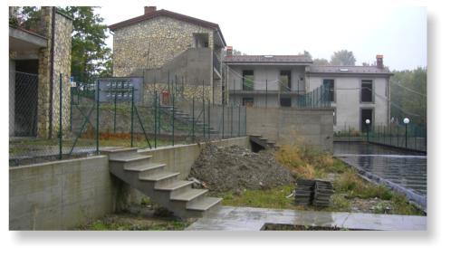 Progetto e costruzione di un centro residenziale sull'appennino